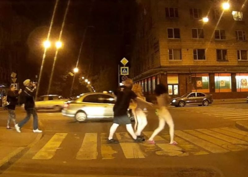 Naked Russian Women On The Streets