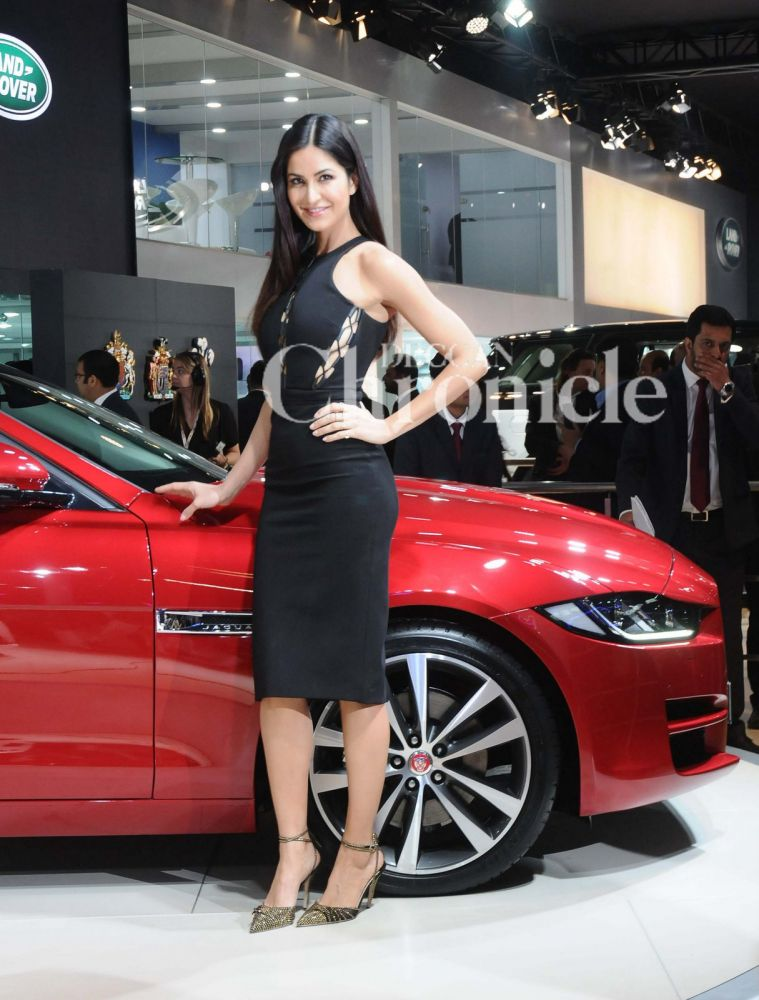 The actress was spotted at Auto Expo in Delhi today.
