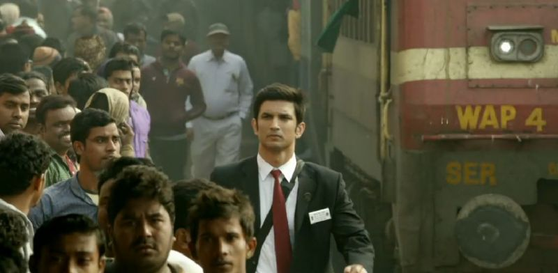 A still of Sushant Singh Rajput from the teaser.