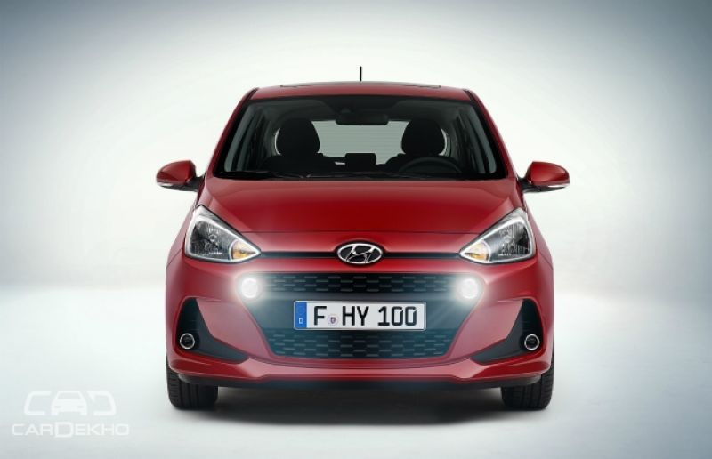Hyundai Grand i10 facelift revealed