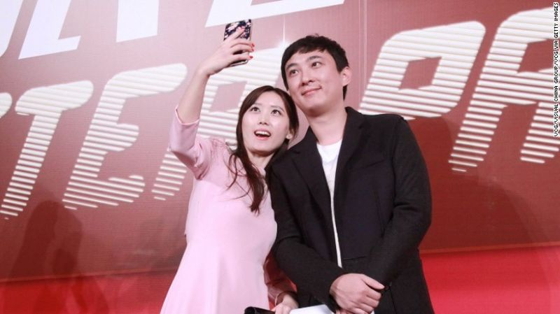 Wang Sicong is nicknamed as 'the nations husband' (Phoeo: Via CNN)