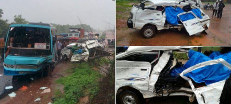 karnataka road accident
