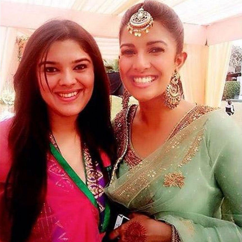 Photos from Nimrat Kaur's sister's wedding.