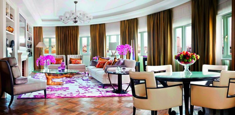 The Grand Penthouse, The Mark, New York Price: Rs 41,31,875 a night