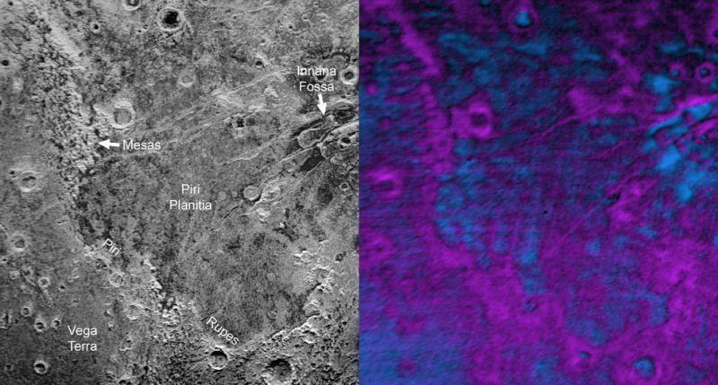 Giant 'bite marks' on Pluto