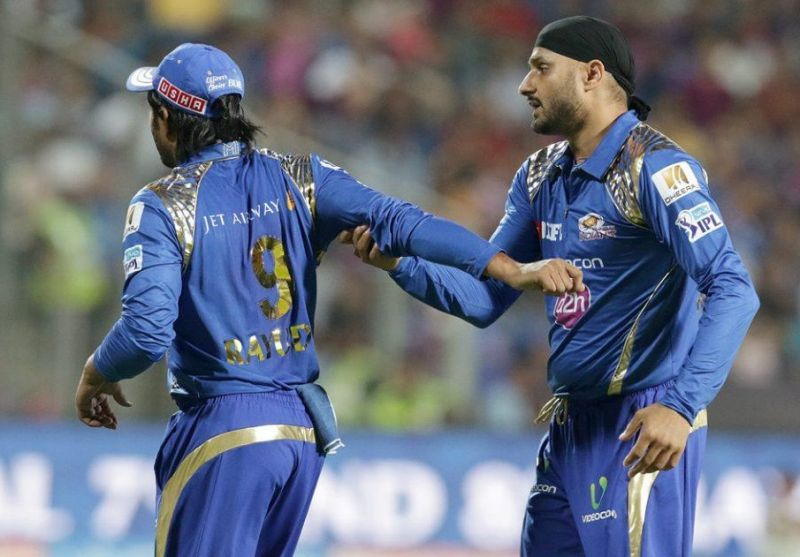 Furious with Rayudu's fielding, Harbhajan started abusing his teammate which sparked the argument between the two players. (Photo: BCCI)