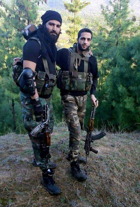 Burhan Wali (right), who was killed by security forces in Kashmir on Friday (AP Photo)