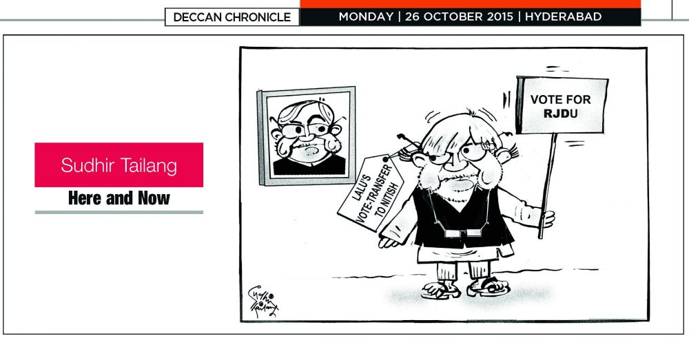 Sudhir Tailang's last cartoon.