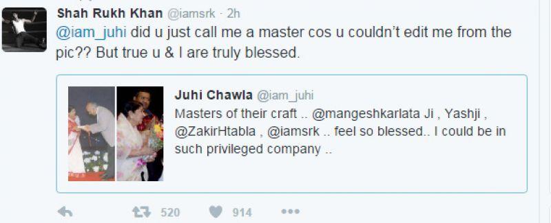 Juhi Chawla Twitter