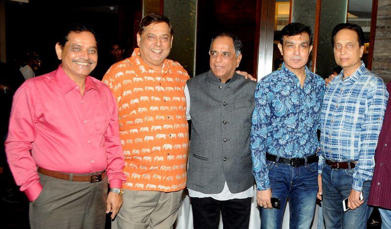 Ganesh Jain, David Dhawan, Pahlaj Nihalani and Ratan Jain