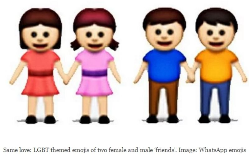 Surprising There Are 10 Homosexual Whatsapp Emoticons On