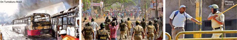 Bengaluru protest