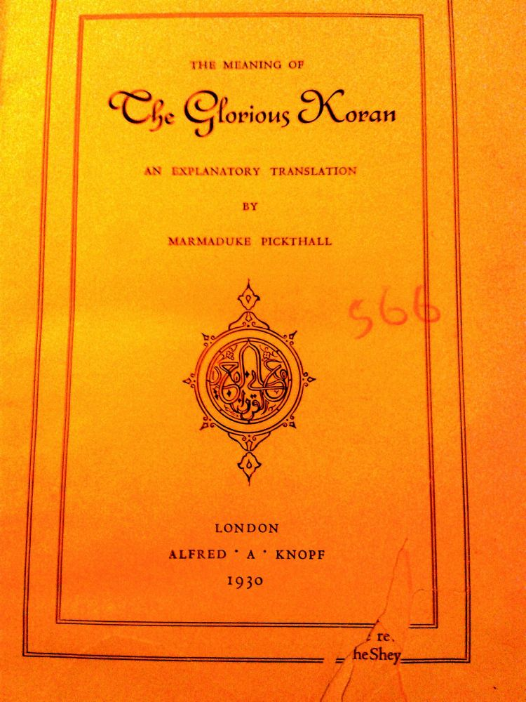 prized possession: First published in 1930, Ali is a proud owner of the first edition of The Meaning of the Glorious Koran, worth over Rs 5 lakh