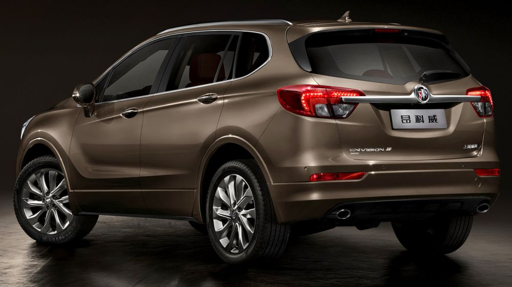 Chinese made Buick Envision also made its debut at the Detroit Auto Show