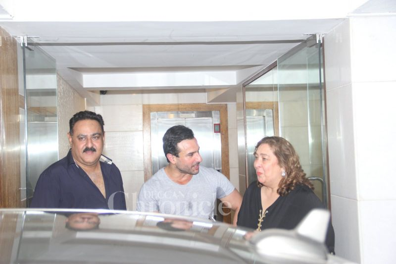 Saif Ali Khan with Reema Kapoor