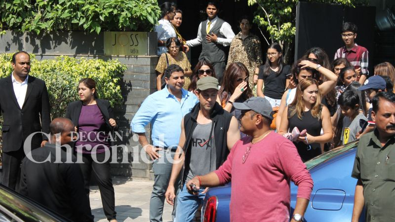 Hrithik and Sussanne come together for their son's birthday