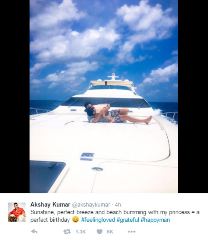 This Is How Akshay Kumar Is Celebrating His Birthday With