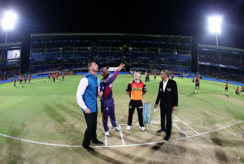 Fans did not turn up in large number and almost the entire top tiers of the stadium were unoccupied. (Photo: BCCI)
