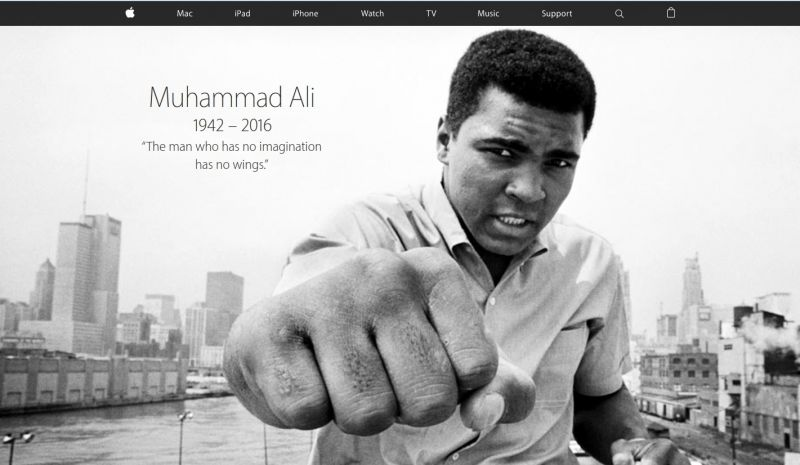 Apple Muhammad ali