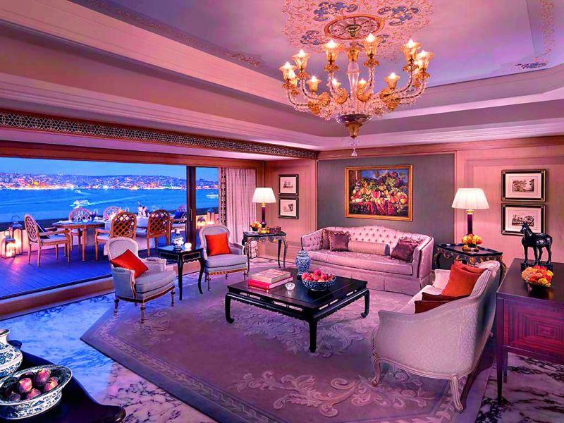 Shangri-La Suite, Shangri-La Bosphorus in Istanbul, Turkey Price: Rs 20,53,815 a night