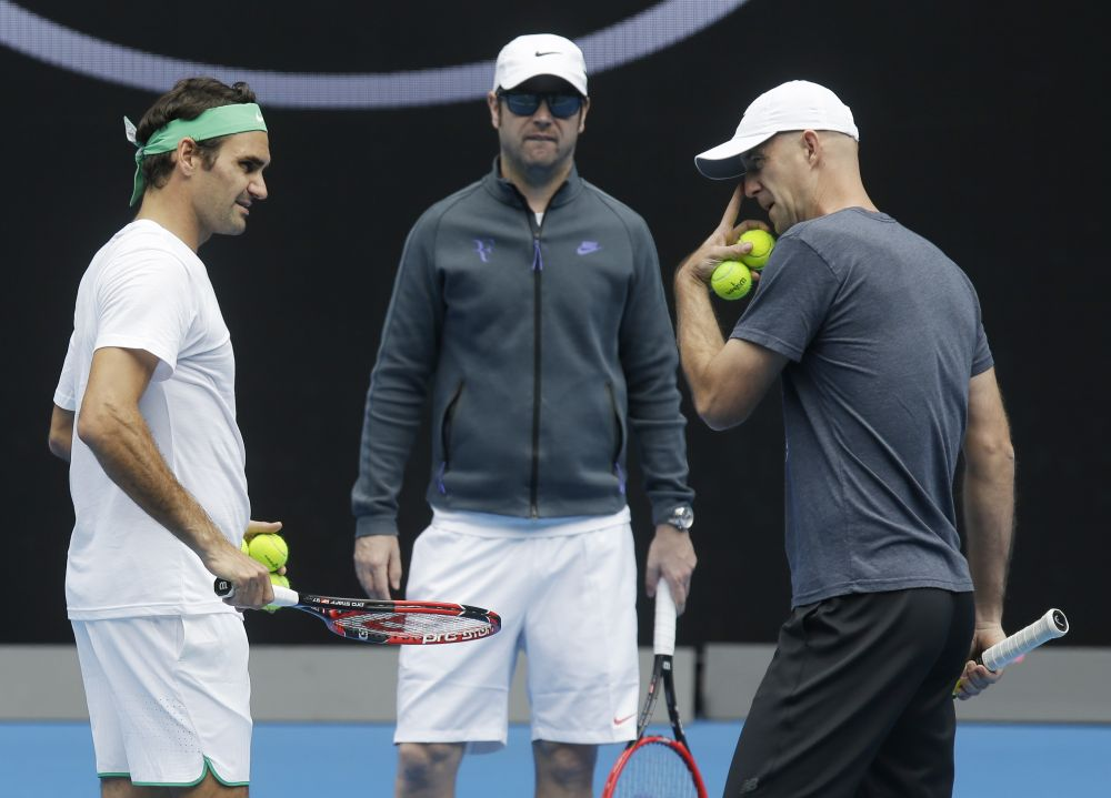Federer insisted he hadn't tailored his game just to beat Djokovic, after he teamed up with Croatia's Ljubicic -- who is close to the Serb and has an intimate knowledge of his game. (Photo: AP)