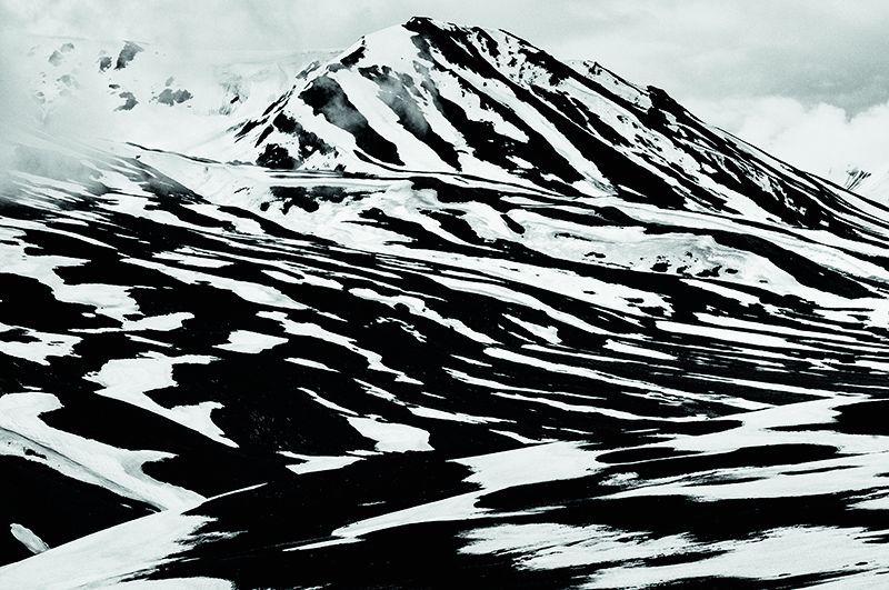 A photo shot clicked at Bara-lacha la, Himachal Pradesh.