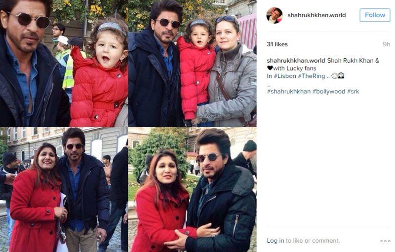 Shah Rukh Khan The Ring