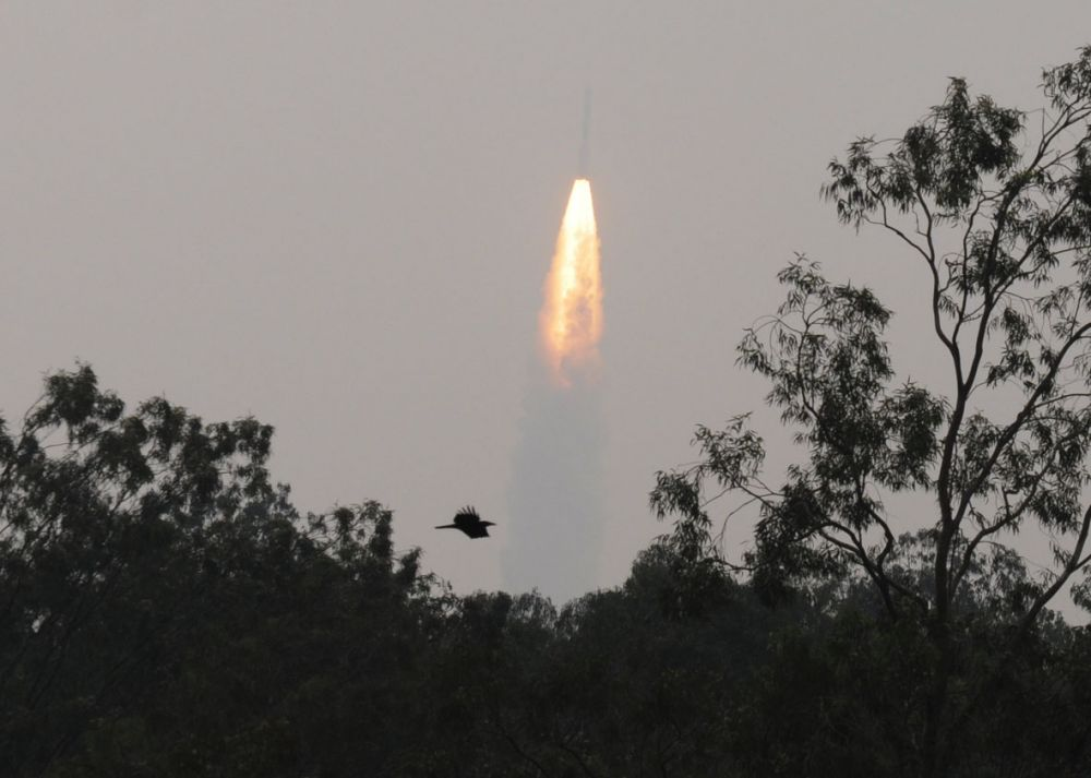 The Indian Space Research Organisation (ISRO) launched India's fifth navigation satellite IRNSS-1E.