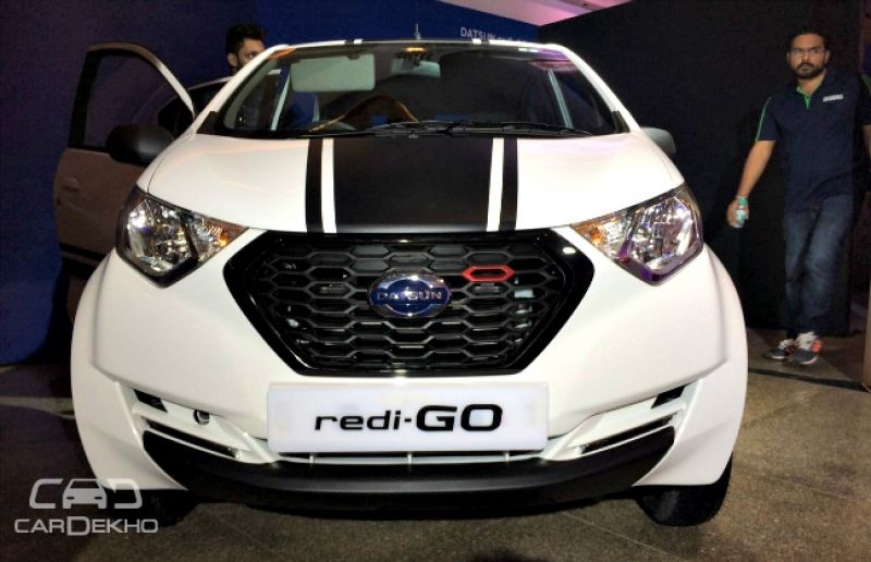 Special-Edition Datsun redi-GO Sport launched at Rs 3.49 Lakh