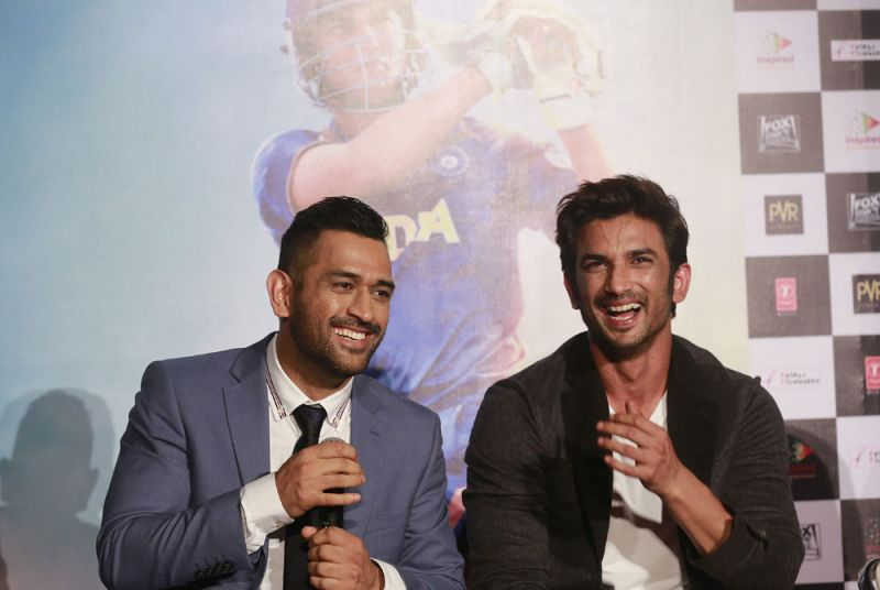 The film is based on the life of MS Dhoni and it features Sushant Singh Rajput in the lead role as the cricketer. (Photo: AP)