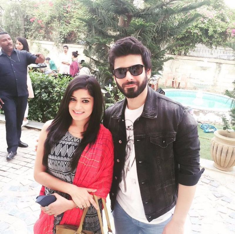 Fawad Khan is currently in Rajasthan where he is shooting for Karan Johar's film.