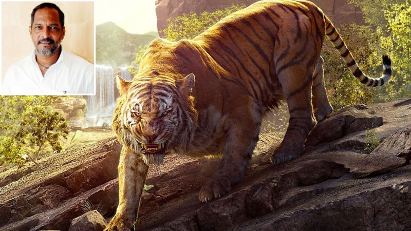 Nana Patekar lend his voice to Shere Khan- the tiger , played by Idris Elba.