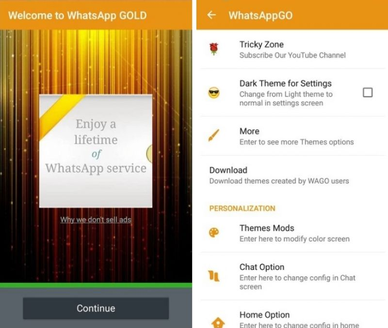 download whatsapp gold latest version