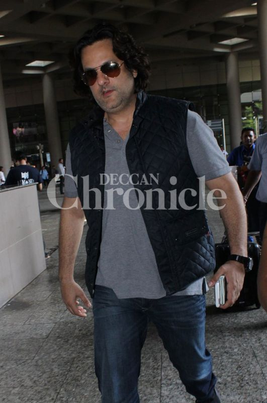 Fardeen Khan spotted at the airport
