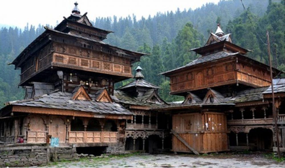 Representational image of a traditional kathi-khuni house.
