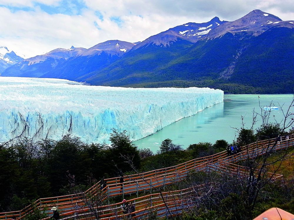 Patagonia is a sparsely populated region located at the southern end of South America in an area shared between Argentina and Chile.