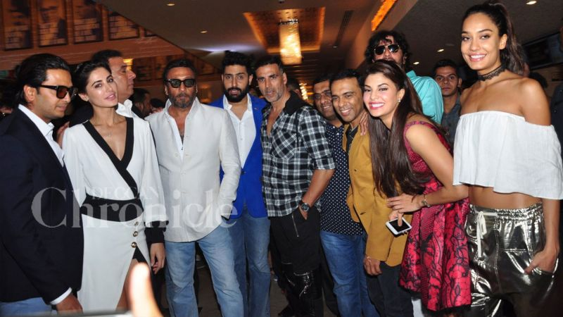 Akshay, Jacqueline, Riteish, Abhishek, Nargis launch ...