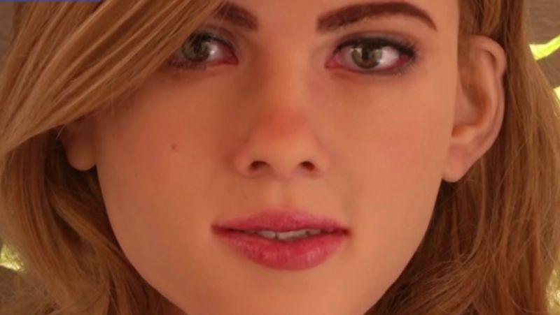 Scarlett Johnson humaoid