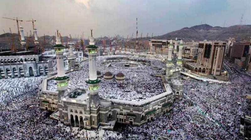 The world's largest annual Muslim gathering, bringing some two million to Islam's most sacred sites in Mecca, will also be a focus of concerns about terrorist violence after a suicide bomber killed four soldiers in early July in the nearby city of Medina, Islam's second holiest.