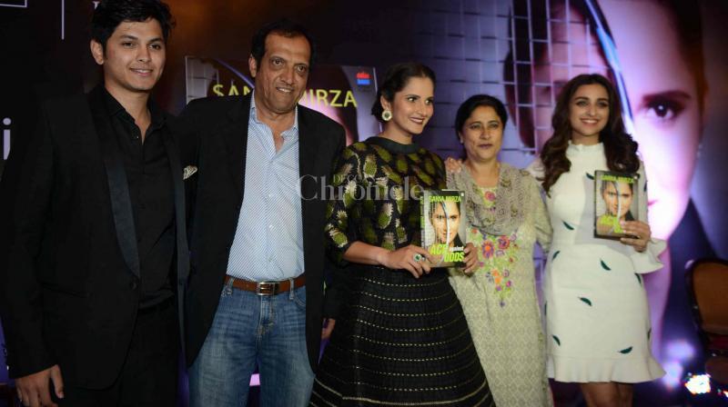 Parineeti Chopra launched Sania Mirza's book.