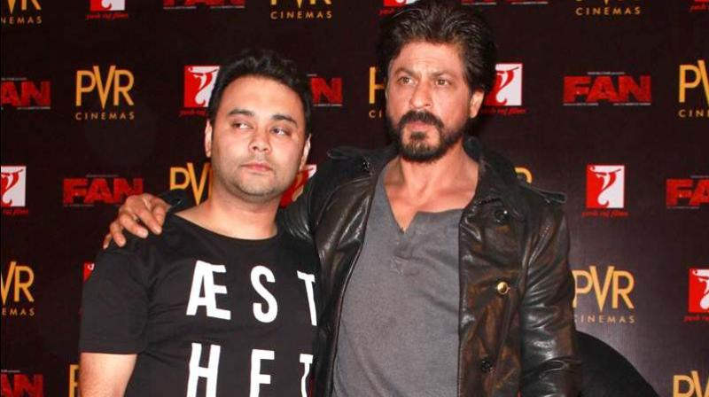 Maneesh Sharma with Shah Rukh Khan