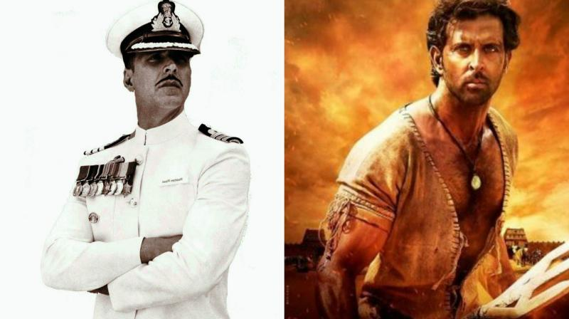 So who did the audience give a thumbs-up to? Hrithik's historical or Akshay's thriller?