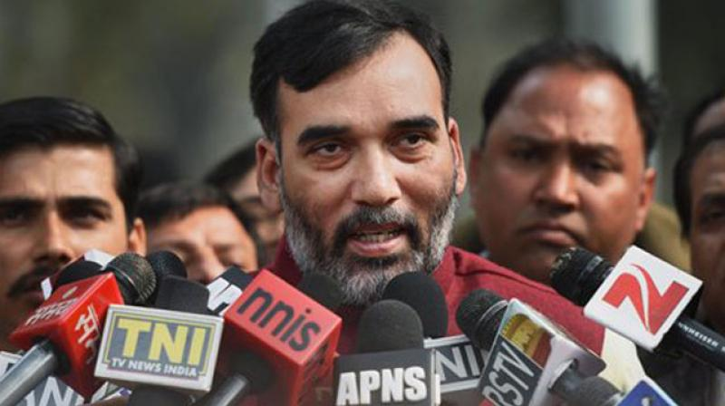 'Yesterday, Arvind Kejriwal clearly stated that the party will do anything to defeat BJP in the Lok Sabha,' Gopal Rai said.   (Photo: PTI)
