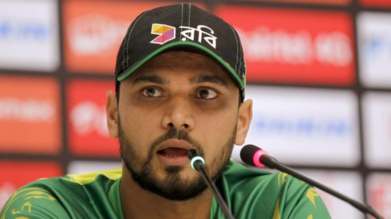 Mortaza as a result of this win became Bangladesh's most successful captain in World Cups with four wins from six matches.(Photo: AP)