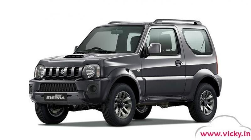 suzuki jimny next gen likely to be made in india. Black Bedroom Furniture Sets. Home Design Ideas