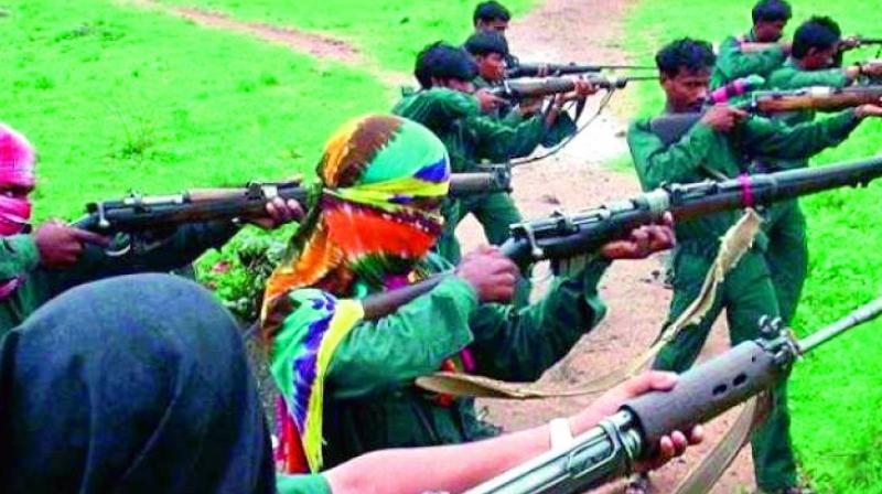 Police personnel opened fire in retaliation in which two maoists were killed, the other ultras escaped under the cover darkness, an official said.  (Representational image)