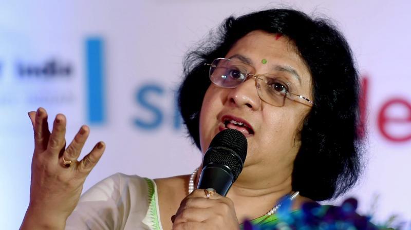 SBI chief Arundhati Bhattacharya. (Photo Credits: AP/PTI)