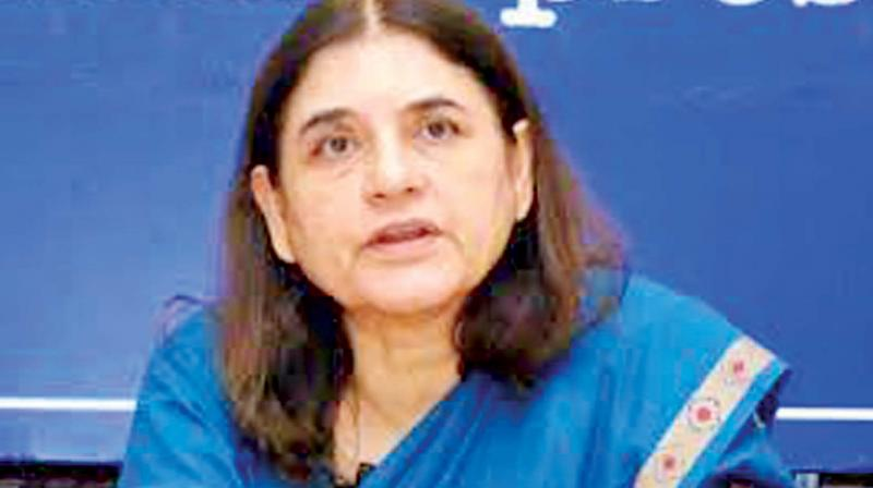 The Minister for Women and Child Development Maneka Gandhi on Tuesday responded to Chinmayi's tweet and stated that she has put up the case to the National Commission for Women (NCW).
