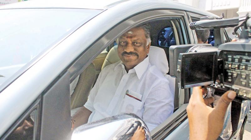 Tamil Nadu Chief Minister O. Panneerselvam. (Photo: DC)
