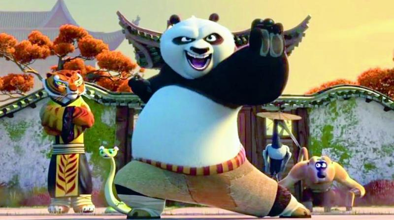 Kung fu panda movie review meet po the master